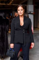 ASHLEY GRAHAM at Cushnie et Ochs Show at New York Fashion Week 02/09/2018