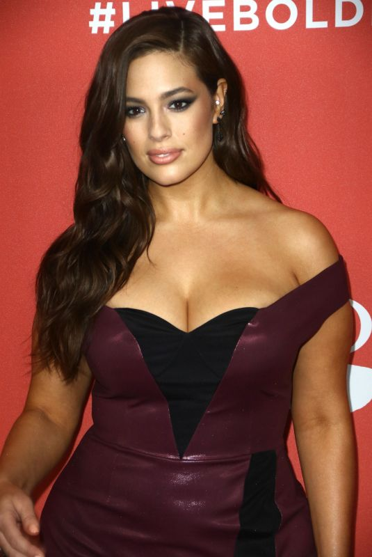 ASHLEY GRAHAM at Revlon Live Boldly Launch Party at Skylight Modern in New York 01/31/2018