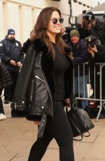 ASHLEY GRAHAM Leaves Michael Kors Fashion Show in New York 02/14/2018