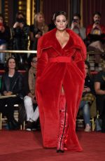 ASHLEY GRAHAM on Catwalk of Christian Siriano Fashion Show at NYFW in New York 02/10/2018