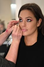 ASHLEY GRAHAM on the Backstage of Christian Siriano Fashion Show at NYFW in New York 02/10/2018