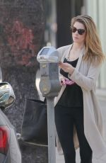 ASHLEY GREENE Out and About in Beverly Hills 02/22/2018