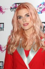 ASHLEY JAMES at VO5 NME Awards 2018 in London 02/14/2018