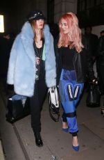 ASHLEY JAMES at Wonderland Magazine x MTV Party at London Fashion Week 02/16/2018