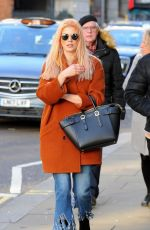 ASHLEY JAMES Out and About in London 02/24/2017