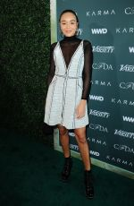 ASHLEY MADEKWE at CFDA, Variety and WWD Runway to Red Carpet Luncheon in Los Angeles 02/20/2018