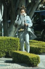 ASHLEY TISDALE Heading to a Hair Salon in Los Angeles 02/22/2018