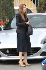 ASIFA MIRZA Out Shopping in Beverly Hills 02/27/2018