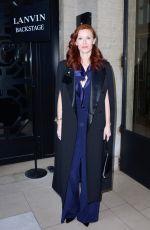 AUDREY FLEUROT at Lanvin Show at Paris Fashion Week 02/28/2018