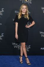 AVA PHILLIPPE at A Wrinkle in Time Premiere in Los Angeles 02/26/2018