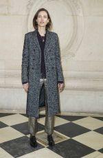 AYMELINE VALADE at Christian Dior Show at Paris Fashion Week 02/27/2018