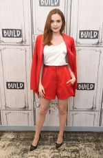BAILEE MADISON at Build Series Studio in New York 02/01/2018