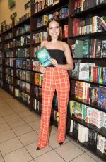 BAILEE MADISON Signs Copies of Her New Book Losing Brave at Barnes & Noble in Los Angeles 02/19/2018