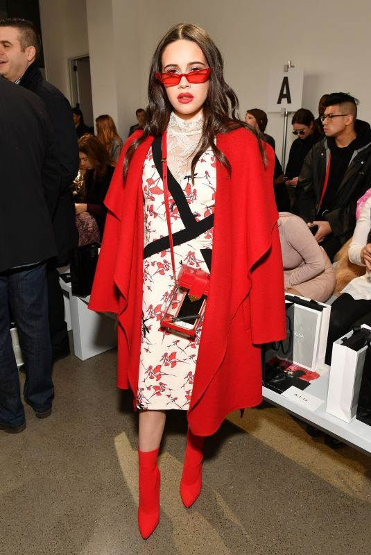 BEA MILLER at Bibhu Mohapatra Fashion Show in New York 02/09/2018