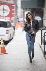 BELEN RODRIGUEZ Out and About in New York 02/01/2018