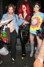 BELLA and DANI THORNE and Mod Sun Night Out in Los Angeles 02/19/2018