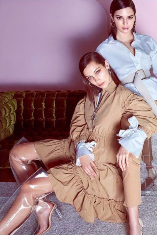 BELLA HADID and KENDALL JENNER for Ochirly Spring/Summer 2018 Collection