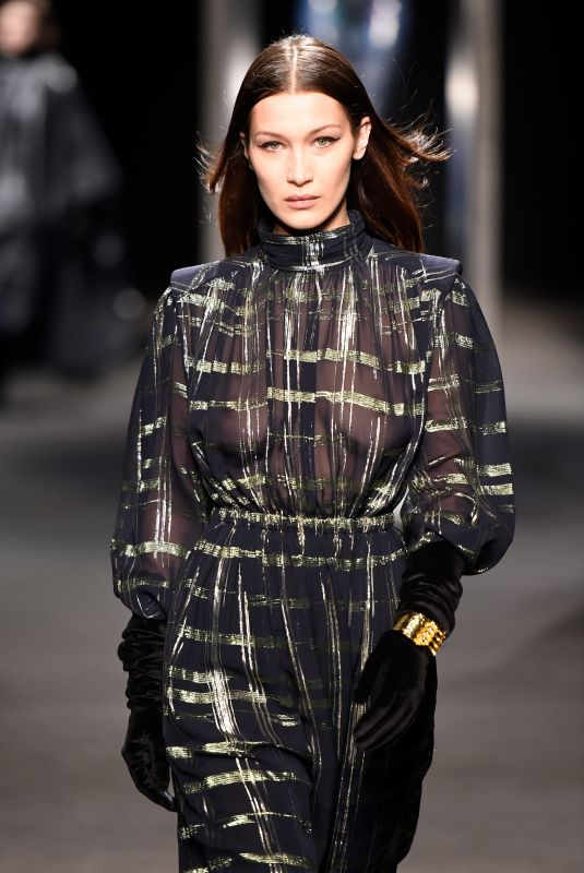BELLA HADID at Alberta Ferretti Fall/Winter Show at Milan Fashion Week 02/21/2018