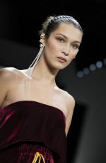 BELLA HADID at Prabal Gurung Catwalk Show at New York Fashion Week 02/11/2018
