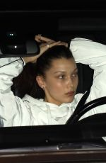 BELLA HADID Driving Out in New York 02/06/2018