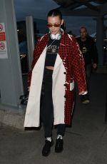 BELLA HADID Leaves Her Hotel in London 02/20/2018