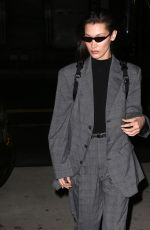 BELLA HADID Night Out in New York 02/15/2018