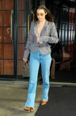 BELLA HADID Out and About in New York 02/12/2018