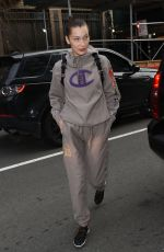 BELLA HADID Workout at a Gym in New York 02/06/2018