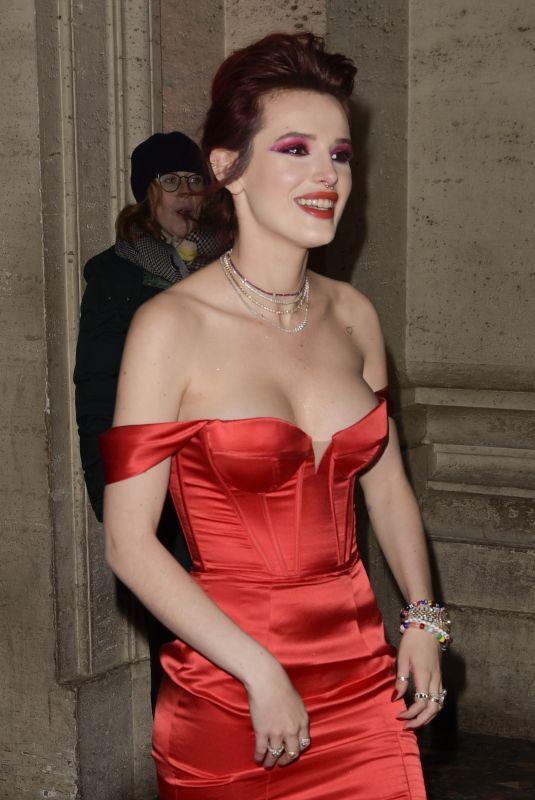 BELLA THORNE at Midnight Sun Premiere in Rome 02/27/2018