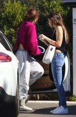 BELLA THORNE Out and About in Los Angeles 02/17/2018