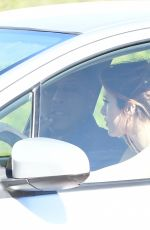 BELLA THORNE Takes Driving Lessons in Los Angeles 02/03/2018