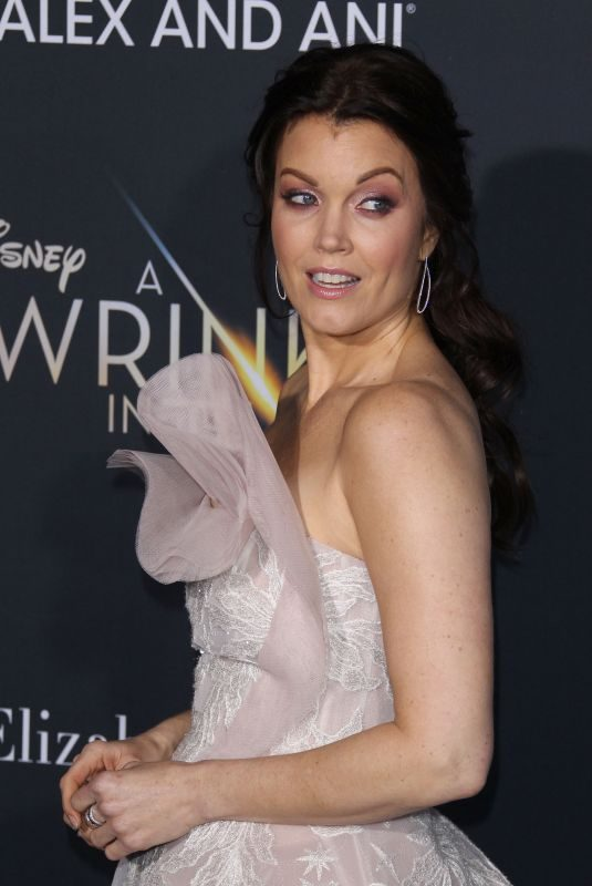 BELLAMY YOUNG at A Wrinkle in Time Premiere in Los Angeles 02/26/2018