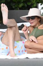 BETHENNY FRANKEL in Bikini at a Pool in Miami 02/04/2018