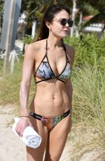 BETHENNY FRANKEL in Bikini on the Beach in Miami 02/21/2018