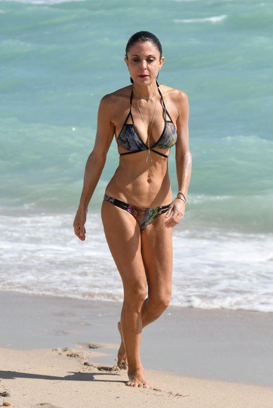 BETHENNY FRANKEL in Bikini on the Beach in Miami 02/21/2018