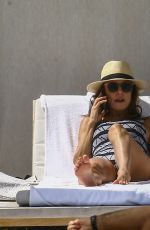 BETHENNY FRANKEL in Swimsuit at a Beach in Miami 02/23/2018
