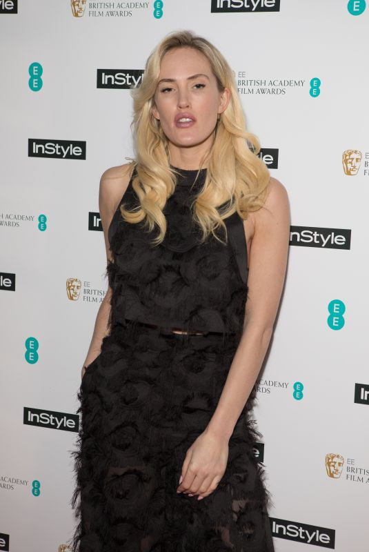 BETSY at Instyle EE Rising Star Baftas Pre-party in London 02/06/2018