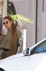 BEYONCE KNOWLES Out and About in Miami 02/09/2018