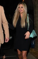 BIANCA GASCOIGNE Night Out in London 02/02/2018