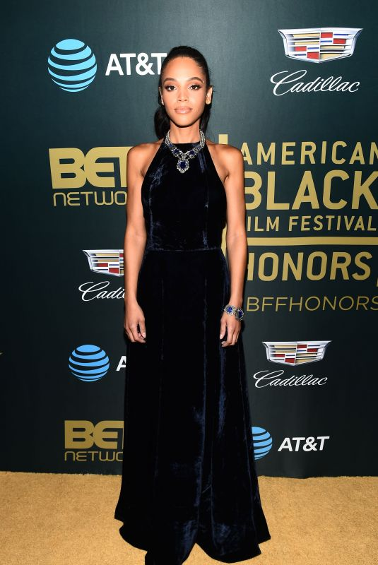 BIANCA LAWSON at American Black Film Festival in Los Angeles 02/25/2018
