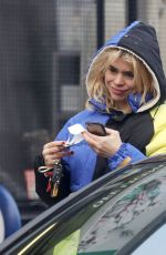 BILLIE PIPER Out and About in London 02/07/2018