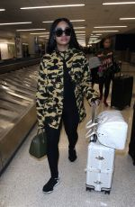 BLAC CHYNA at Los Angeles International Airport 02/03/2018