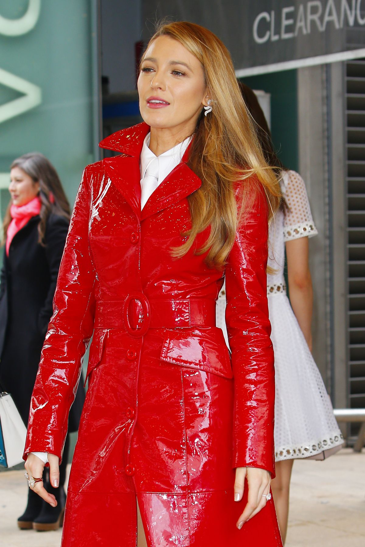 BLAKE LIVELY at Michael Kors Fashion Show in New York 02 ...