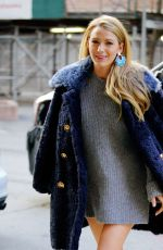 BLAKE LIVELY Out in New York 02/15/2018