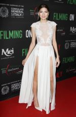 BLANCA BLANCO at Italian Institute of Culture Los Angeles Creativity Awards in Hollywood 01/31/2018