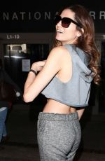 BLANCA BLANCO at LAX Airport in Los Angeles 02/22/2018