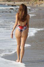BLANCA BLANCO in Swimsuit on the Beach in Malibu 01/31/2018