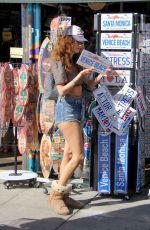 BLANCA BLANCO Shopping for Shades in Venice Beach 02/08/2018