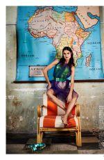 BLANCA PADILLA in Madame Figaro Magazine, February 2018
