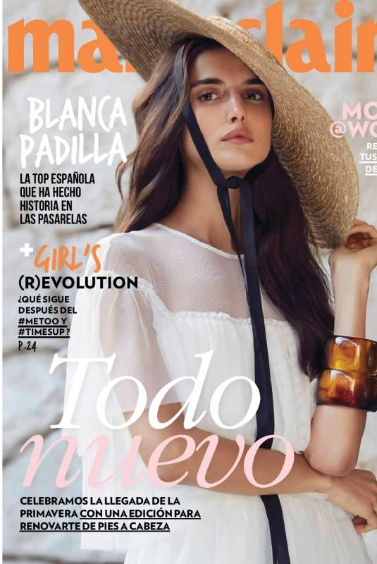 BLANCA PADILLA in Marie Claire Magazine, Mexico March 2018